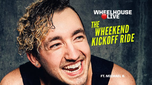 THE WHEEKEND KICKOFF RIDE ft. MICHAEL B.
