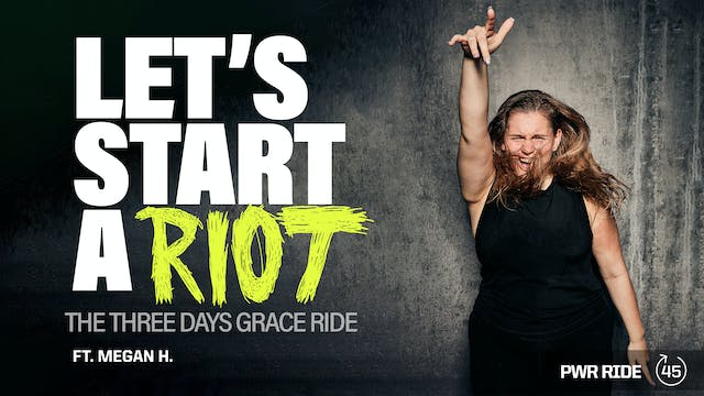 LET'S START A RIOT [THE THREE DAYS GR...