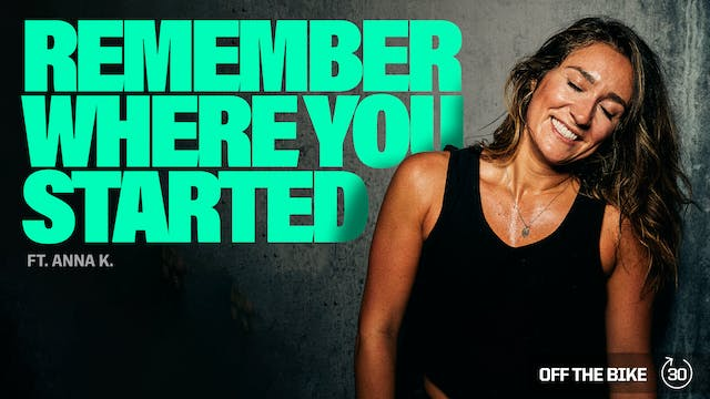 REMEMBER WHERE YOU STARTED ft. ANNA K.