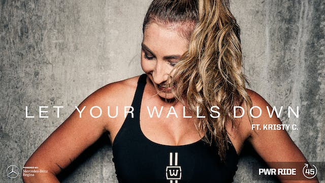 LET YOUR WALLS DOWN ft. KRISTY C.
