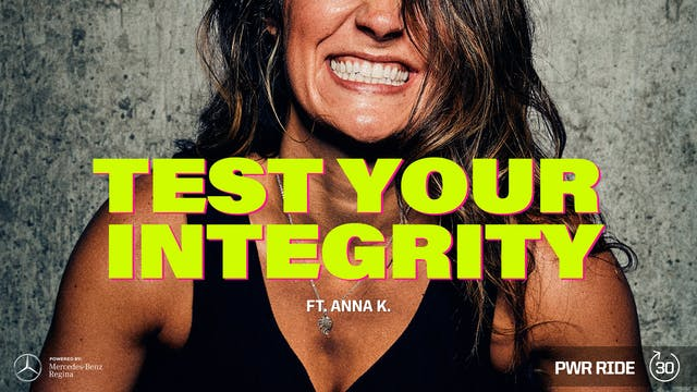 TEST YOUR INTEGRITY ft. ANNA K.