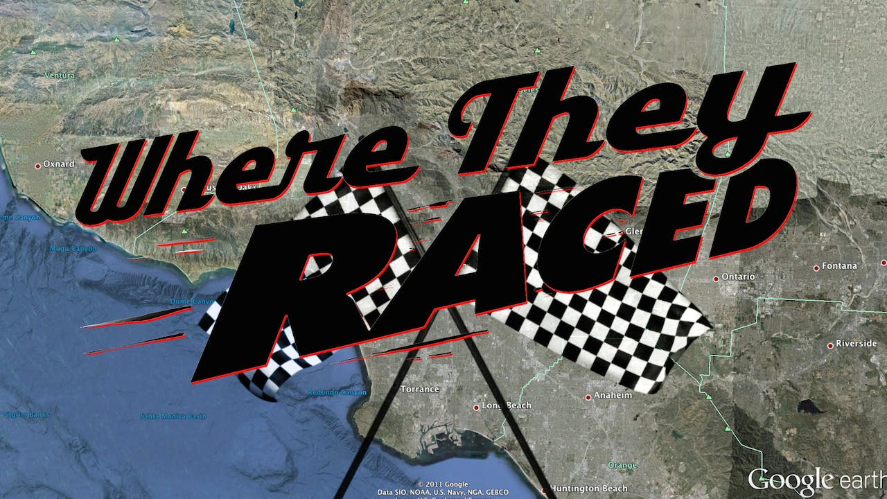 Just the film - Where They Raced