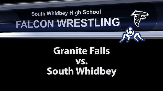 SWHS Wrestling V Granite Falls