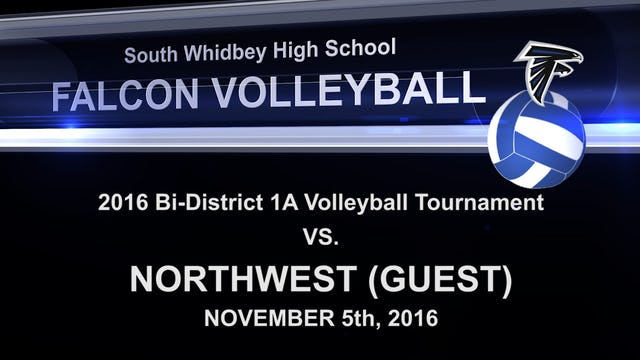 2016 SWHS Volleyball v Northwest Playoff Game 1