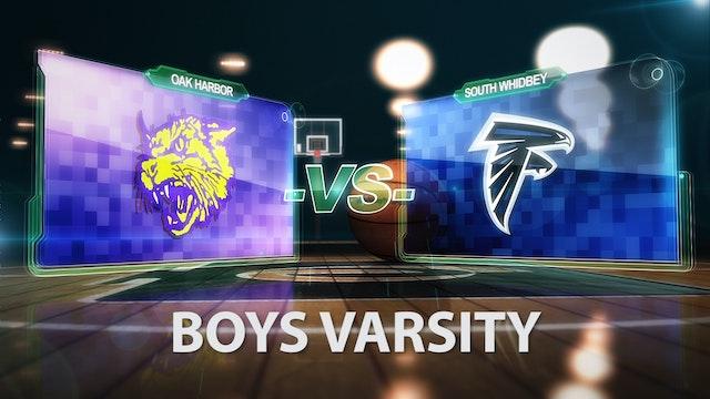 2017 Boys Basketball V Oak Harbor