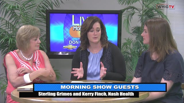 The Morning Show - Nash Healthcare