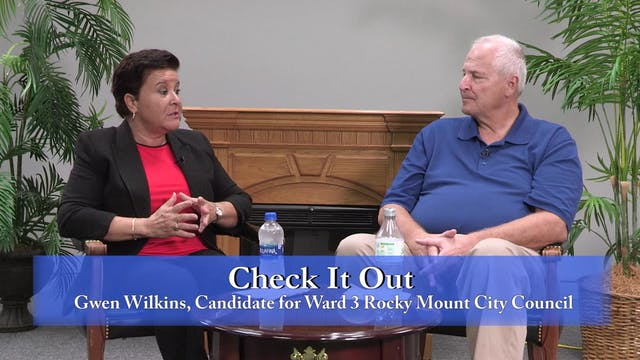 Check It Out - Gwen Wilkins