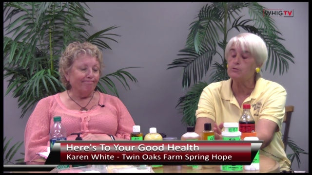 Here's To Your Good - Health Twin Oaks Farms