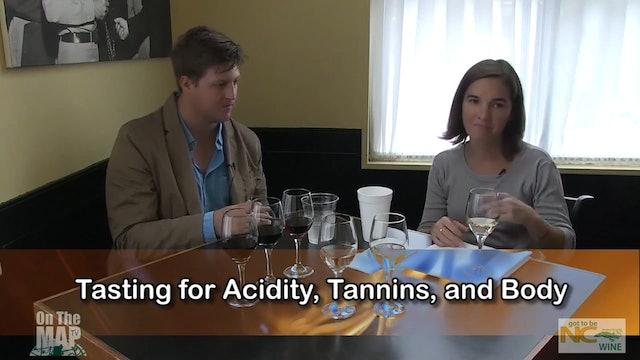North Carolina Wine Series - Wine Tasting Etiquette with Inez Ribustello