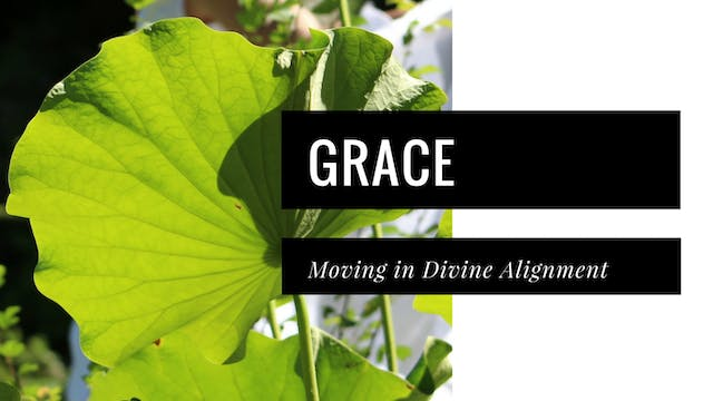 Grace, Moving in Divine Alignment