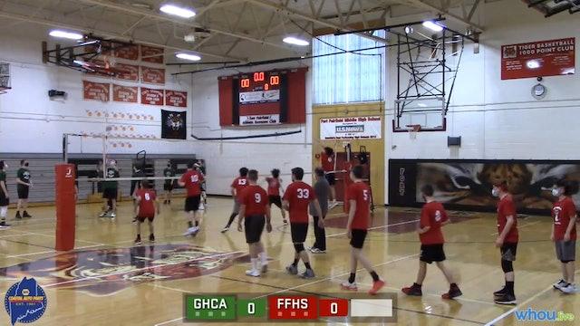 GHCA at Ft Fairfield Boys Volleyball 3-22-21