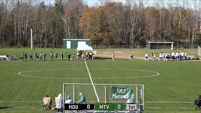 Houlton at Mt View Boys Soccer 10-22-21