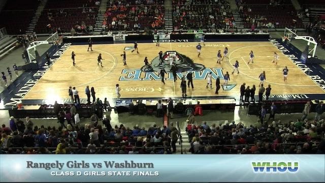 Rangeley Girls vs Washburn Class D States 2-28-2015