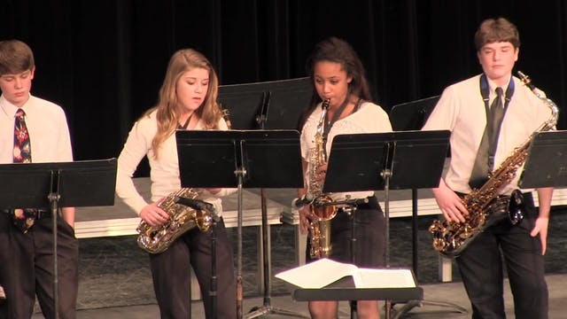 Houlton Junior High Jazz Band 3-21-2013