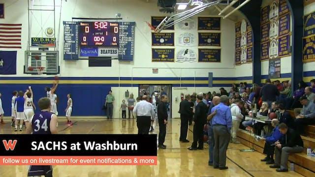 SACHS at Washburn boys 12-16-15