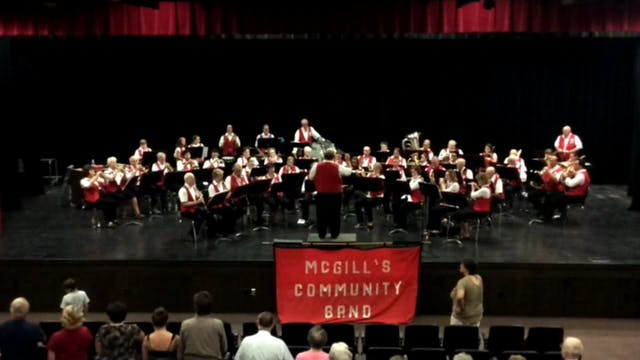 McGill's Band Concert 8-20-15