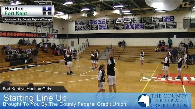 Fort Kent vs Houlton Girls 12-13-14