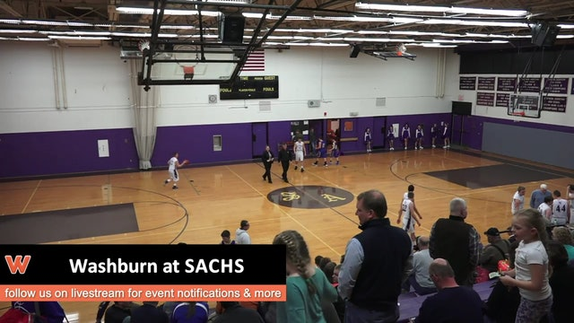 Washburn at SACHS Boys 12-14-16