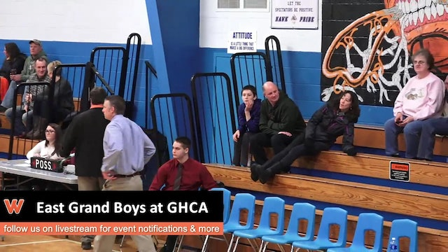 East Grand Boys at GHCA 12/30/16