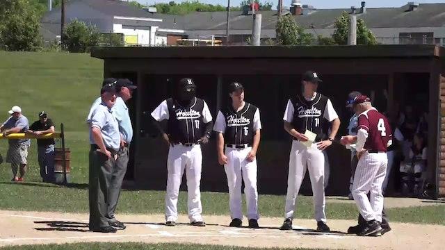 Orono at Houlton Baseball Semi-Final 6-10-17