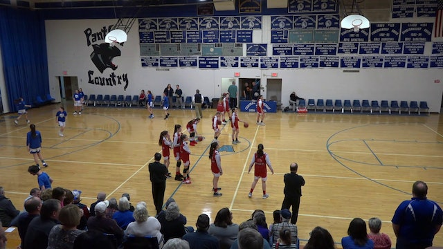 Fort Fairfield Girls at CAHS 1/24/20