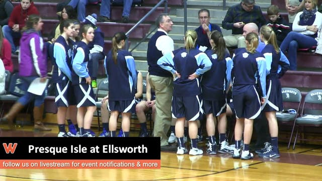Presque Isle Girls at Ellsworth 12-31-16