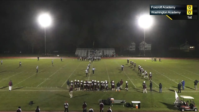 Football Class D Semifinal North 2018 WA vs Foxcroft Academy 11-2-18