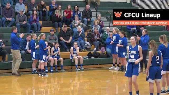 CAHS at Fort Kent - Girls - 2/2/19