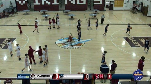 PI at Caribou Boys JV Basketball 2-26...