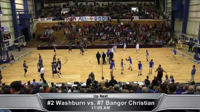 Washburn vs Bangor Christian Boys