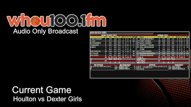 Bangor Tournament Coverage - Live Stats and Audio Houlton vs Dexter Girls