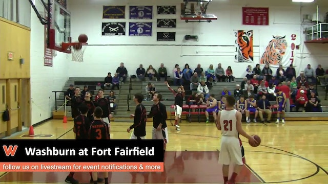 Washburn Boys at Fort Fairfield 1-17-17