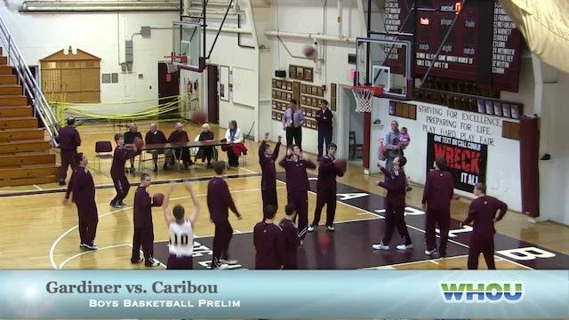 Gardiner vs Caribou Boys 2/12/14