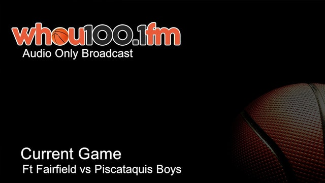 Bangor Tournament Coverage - Live Stats and Audio Ft Fairfield vs Piscataquis Boys