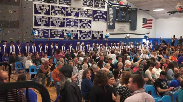Hodgdon High School Graduation 2018