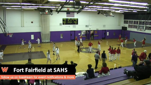 Fort Fairfield at SAHS - Girls 12-11-15