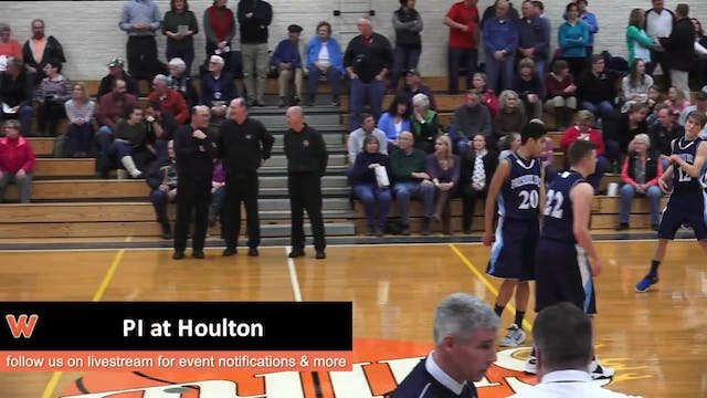 Presque Isle Boys at Houlton 2-2-17