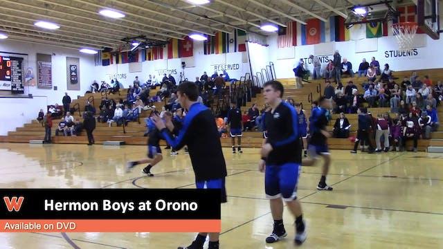 Hermon Boys at Orono 1-23-18