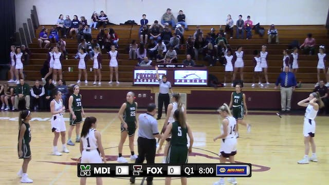 MDI at Foxcroft Academy - Girls - Dec...