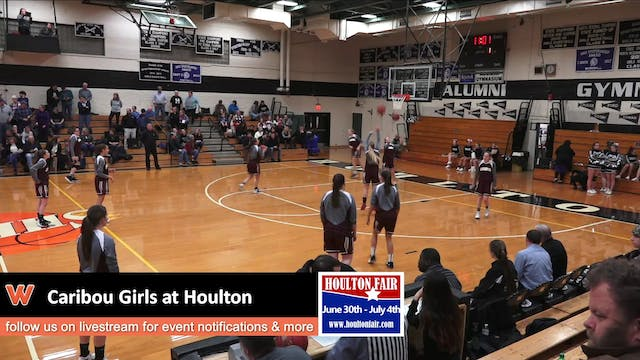 Caribou Girls at Houlton 12-19-17