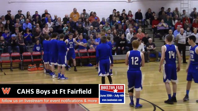 CAHS Boys at FF 1-19-18