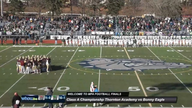 Thornton Academy vs. Bonny Eagle - Class A Football State Championship