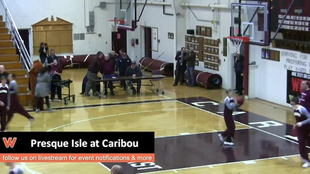 Presque Isle at Caribou Boys 2-9-17