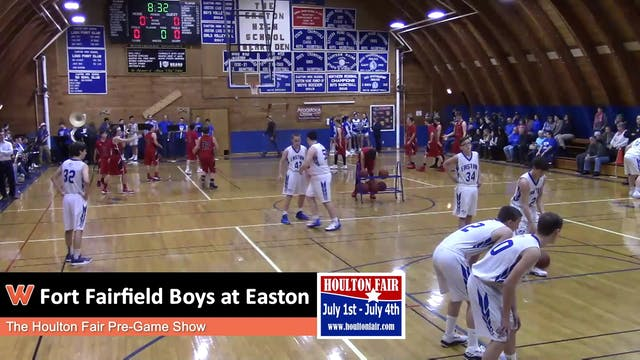 Fort Fairfield Boys at Easton 12/11/17