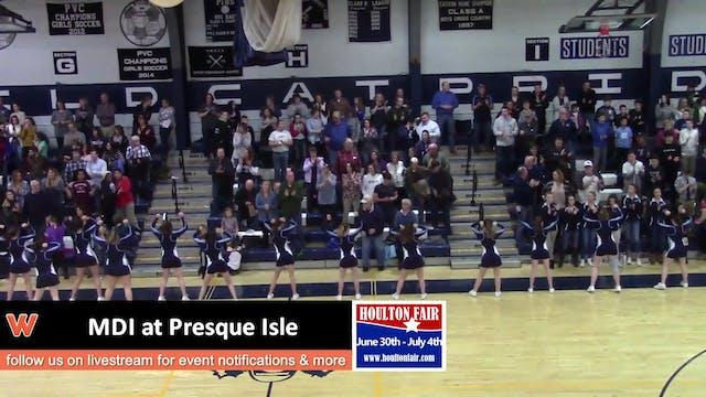 MDI at Presque Isle 12/28/17