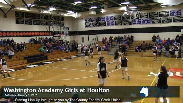Washington Academy v Houlton Girls 1-...