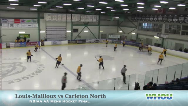 Carleton North vs Louis-Mailloux NBIA...