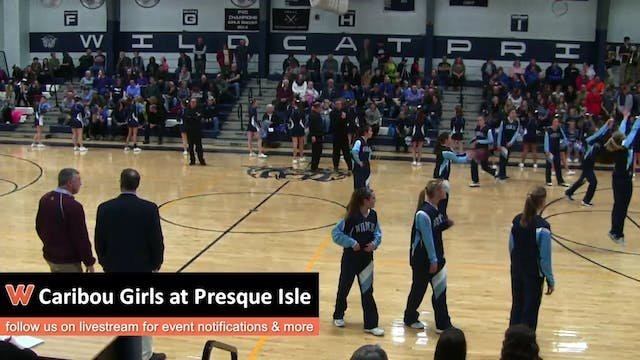 Caribou Girls at Presque Isle 1-10-17