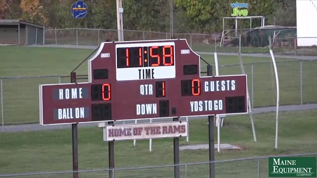 Hampden at Bangor Boys Football 10/15/20
