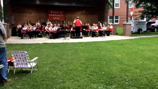 McGill's Band 7-30-15
